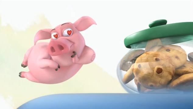 Смешное видео для детей Клоун Пуги и свинка Пеппа