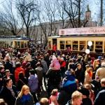 Парад трамваев 2015. Часть 1