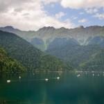 Рица, Юпшарский каньон и Голубое озеро