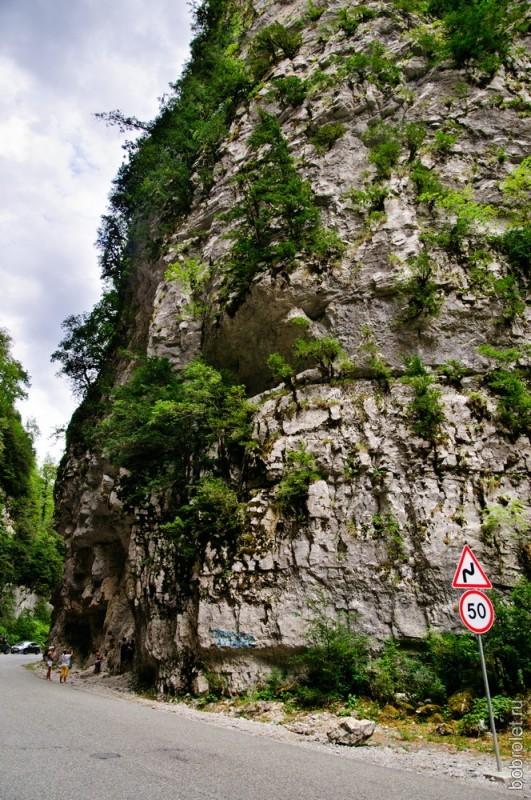 """Юпшарский каньон еще называют """"Каменным мешком""""."""