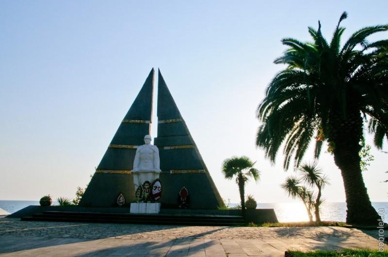 Памятник воевавшим в 1941-1945 годах.