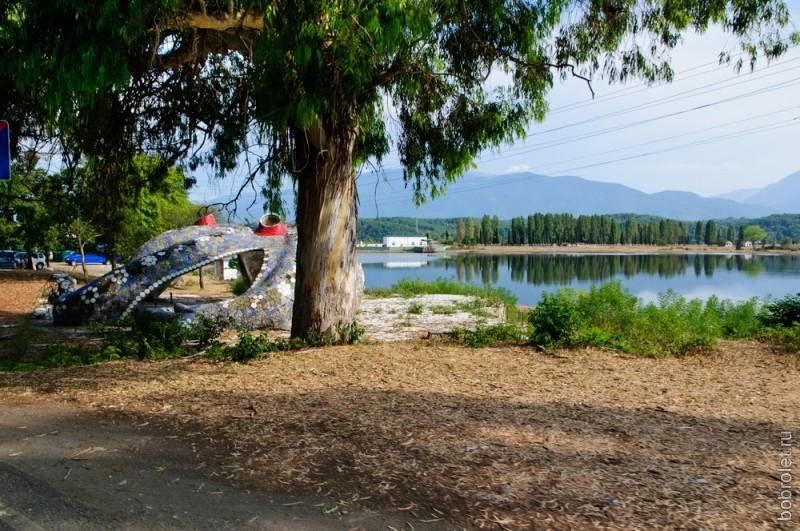 Озеро Инкит.