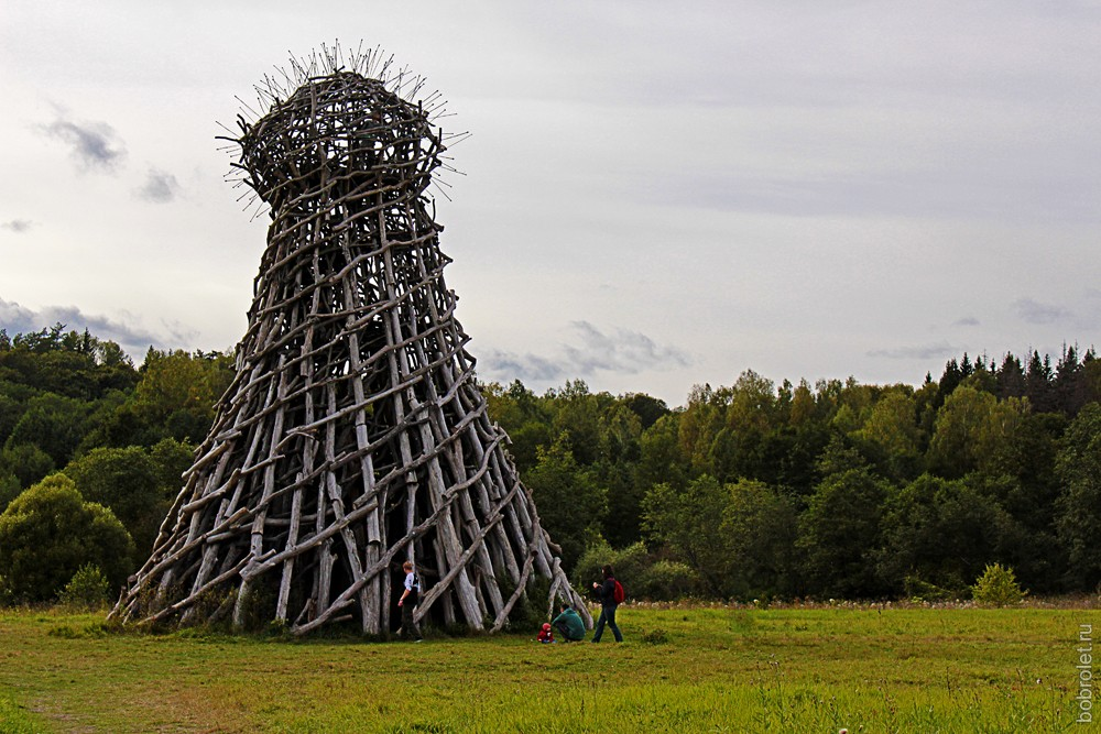 Маяк на Угре -  Николай Полисский, 2004г.
