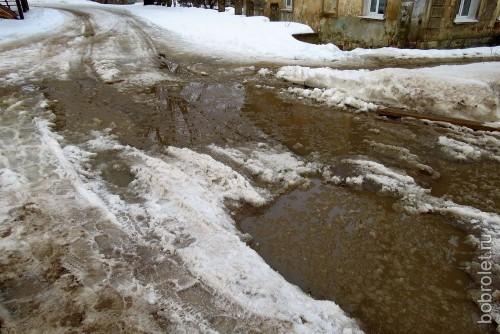 Это тротуарчик рядом, на улице Грацинского.
