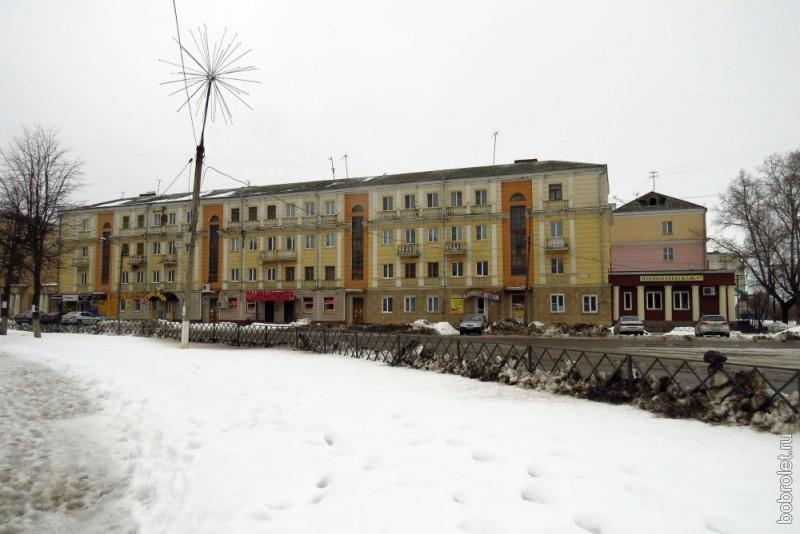 Общий вид первого сталинского дома