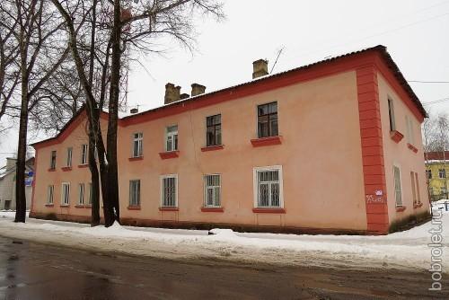 И несколько домов на улице Елисеева.