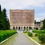 Здание парламента в Сухуме