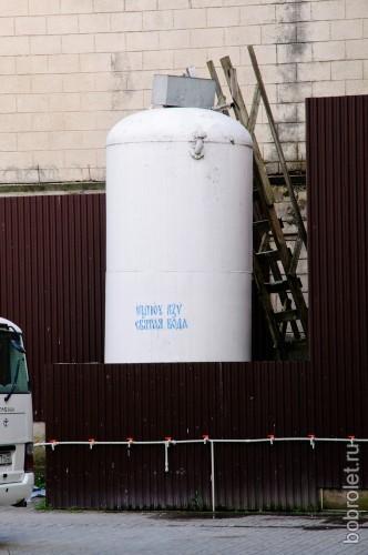 Цистерна святой воды.